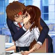 Kiss in Work Hours Game Online kiz10