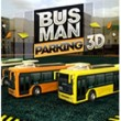 Bus Man Parking 3D Game Online kiz10