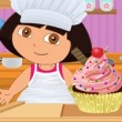 Baby Dora Perfect Cupcake Swirl  Game Online kiz10