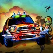 Zombie Car Madness Game Online kiz10