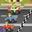 Minions Crazy Racing Game Online kiz10