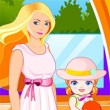 Barbie Laundry for Her Baby Game Online kiz10