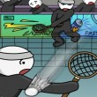 Stick Figure Badminton 2 Game Online kiz10