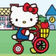 Hello Kitty City Ride Game Online kiz10
