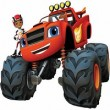 Blaze Monster Truck Puzzle Game Online kiz10