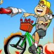 Newspaper Boy Saga Game Online kiz10