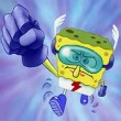 Super Hero SpongeBob Puzzle Game Online kiz10