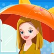 Kids Umbrella Store Game Online kiz10