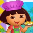 Dora Family Restaurant Game Online kiz10