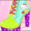 Hello Kitty Shoes Designer Game Online kiz10
