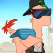 Phineas and Ferb Star Wars: Droid Masters Game Online kiz10