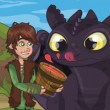How To Train Your Dragon Lunch Surprise Game Online kiz10
