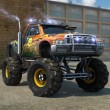 Monster Trucks 3D Parking  Game Online kiz10