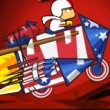 Kick Buttowski: Star Spangled Launcho Game Online kiz10