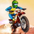 Adventure Biker Game Online kiz10