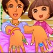 Dora Hand Spa for Mom Game Online kiz10