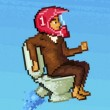 Game Pixel Toilet
