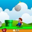 Mario in Avalanche Game Online kiz10