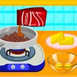 Cooking Delicious Fudge Puddles Cake Game Online kiz10
