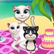 Talking Angela Picnic Day Game Online kiz10