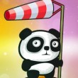 Flying Panda Game Online kiz10