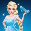 Elsa Glass Slipper Game Online kiz10