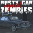 Rusty Cars Against Zombies Game Online kiz10