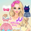 Elsa As Malibu Barbie Game Online kiz10