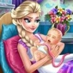 Elsa Birth Care Game Online kiz10