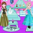Elsa And Anna Room Decoration Game Online kiz10