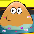 Pou Bathing Game Online kiz10