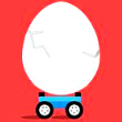 Eggs & Cars: Dont Drop the Egg! Game Online kiz10