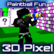Paintball Fun 3D Pixel Game Online kiz10