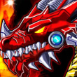 Game Robot Fire Dragon
