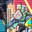 Game Dino Robot Styracosaurus
