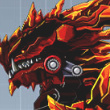 Robot Berial Dragon Game Online kiz10
