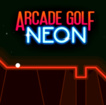 Arcade Golf: NEON Game Online kiz10
