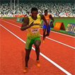 100 Metres Race Game Online kiz10