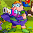 Clarence: Awesomest Battle in History Game Online kiz10