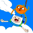 Adventure Time: Jake and Finns Candy Dive Game Online kiz10
