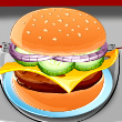 Burger Time Game Online kiz10