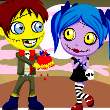 Zombie Love Story 2 Game Online kiz10