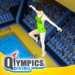 Qlympics Diving  Game Online kiz10