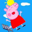 Peppa Pig Bounce Game Online kiz10