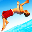 Flip Diving Game Online kiz10