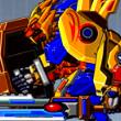 Game Robot Lion Hero