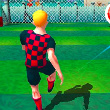 10 Shot Soccer Game Online kiz10