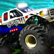 Stunt Monsters 3D Game Online kiz10