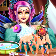 Perfect Nail Fairy Princess Game Online kiz10