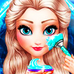 Ice Queen Christmas Makeover Game Online kiz10